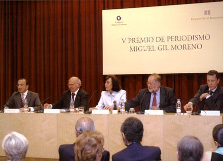 V Premio Miguel Gil Moreno